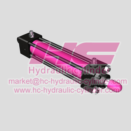 Light hydraulic cylinder SO series-6