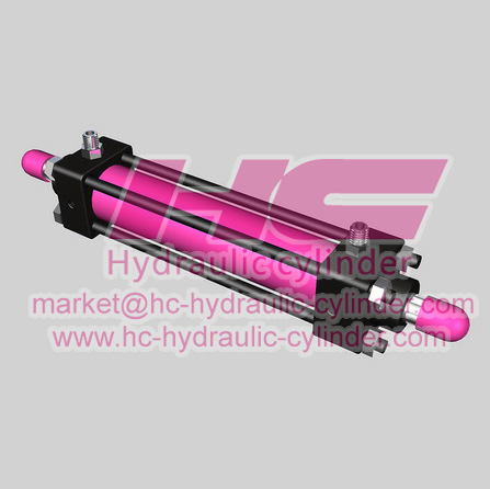 Light hydraulic cylinder SO series-9